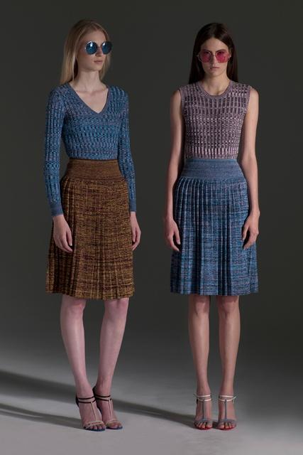 Сложные складки в юбках